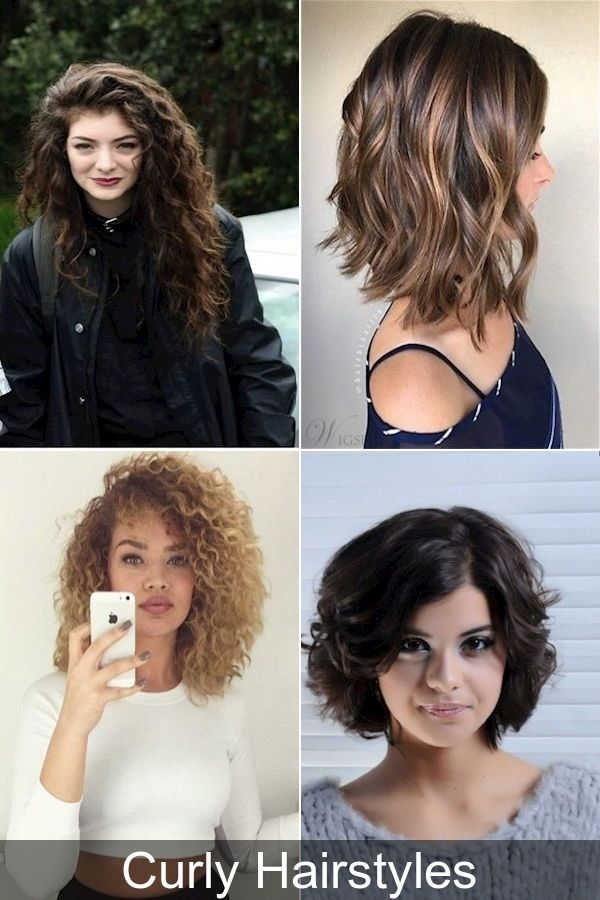 Haircuts For Natural Curly Hair 2016 Easy Short Curly Hairstyles Hair Routine For Curly Hair In 2020 Curly Hair Styles Naturally Hair Styles 2016 Hair Styles
