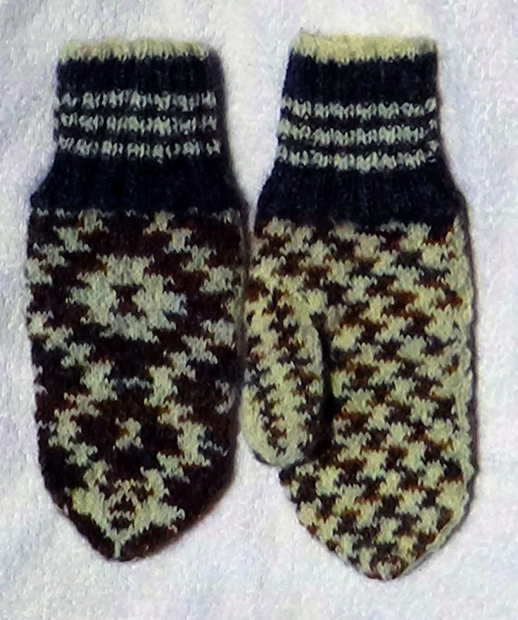 South-Western Navajo themed mittens