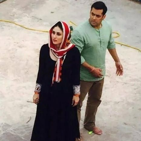 "Salman, Kareena clicked during ""Bajrangi Bhaijaan"" shoot 