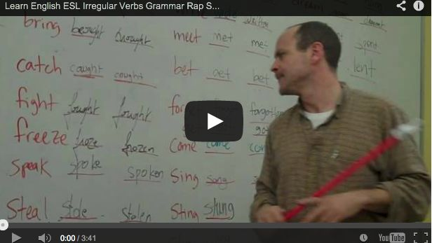 Blog post at Brilliant or Insane : Tell yourfriendsyou're off to learn irregular verbsfor your ESL class, and they are likely to respond with, 'Ouch! That sounds reall[..]