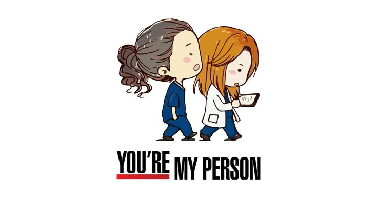 Grey's Anatomy -  You're My Person by aquaduelist