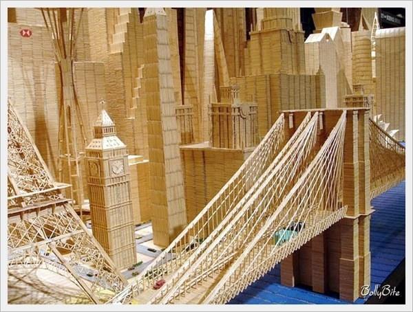 Toothpick City