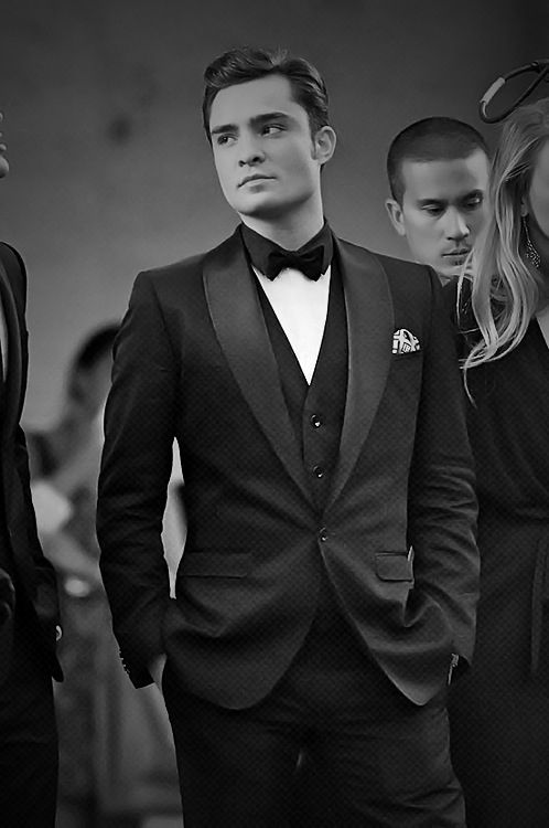 I know I repin Chuck Bass pins a lot but can you blame me. Love the tux!