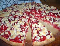 Cherry Dessert Pizza Recipe