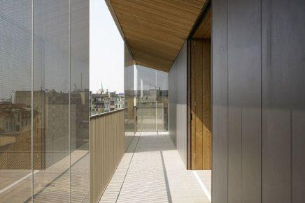 L'operazione prevede la riqualificazione urbanistica dell'area con la realizzazione di un edificio di otto piani.