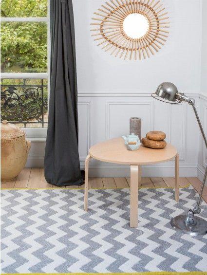 Die besten 25+ Chevron teppiche Ideen auf Pinterest Gelbe - teppichboden grau wohnzimmer