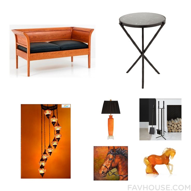 Homeware Items Including Thos. Moser Sofa Marble Top End Table Ceiling Light And Orange Table Lamp From October 2016 #home #decor