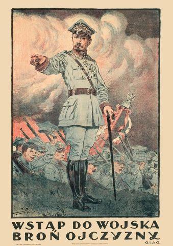 Broń Ojczyzny - przedwojenny.pl Przedwojenny polski plakat z czasów II RP