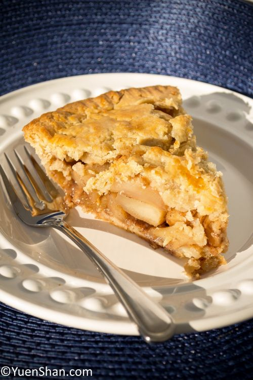 Apple pie - my favourite fall dessert, from pie crust to filling, all made from scratch.