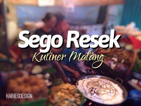 Sego Resek ( Nasi Goreng Resek ) Wisata Kuliner asli Malang |hariesdesign.com