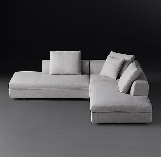 Magnus Open L Sectional In 2020 Sectional Deep Seating Danish