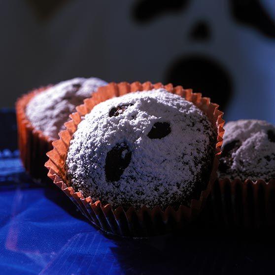 Spøgelsesmuffins - Opskrifter
