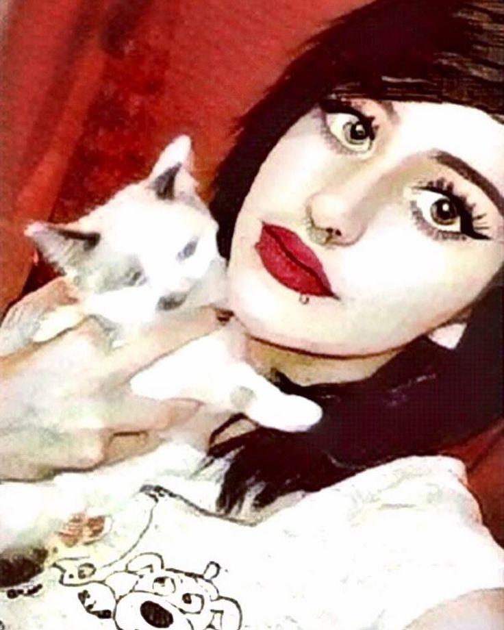 If youre cruel to animals we are NOT friends.  #Me #selfie #diinadaring #goth #filterlove #catslover #longbob #alternative #alternativegirl #grunge #grungegirl #pastelgoth #pastelgoths #aesthetic #aesthetics #softgrunge #emogirl #emo #alternative #alternativegirl #grunge grungegirl #scene  #scenegirl #pastelgoth #pastelgoths #piercings #cute #love