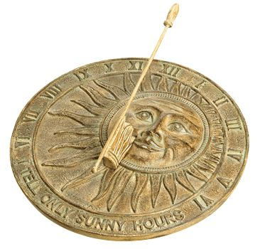 how to tell time on a sundial