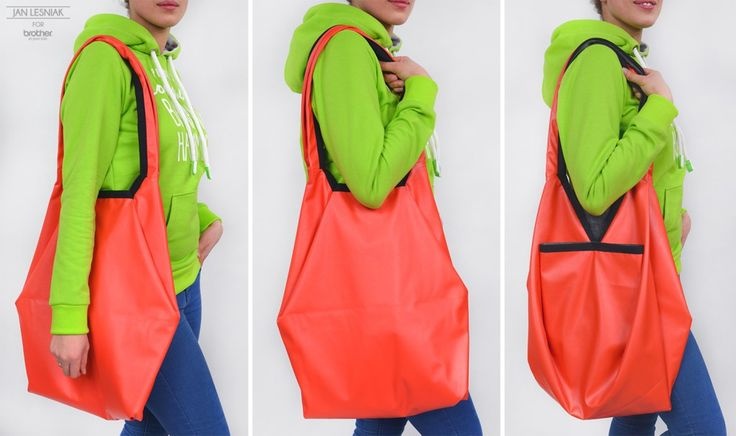 DIY: A Bundle bag made from a square http://www.pracowniajanlesniak.pl/2016/02/diy-a-bundle-bag-made-form-a-square/