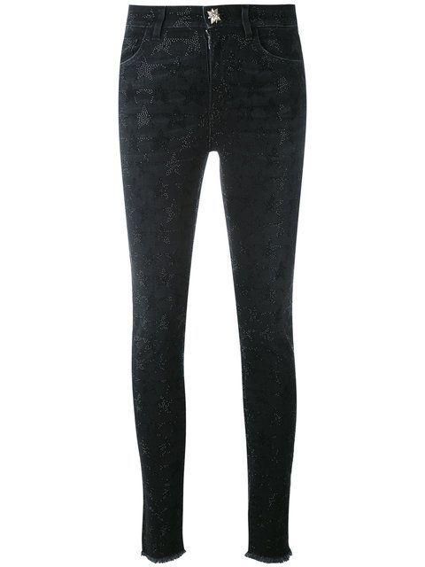 JOHN RICHMOND Anicuns Glittery Skinny Jeans. #johnrichmond #cloth #jeans
