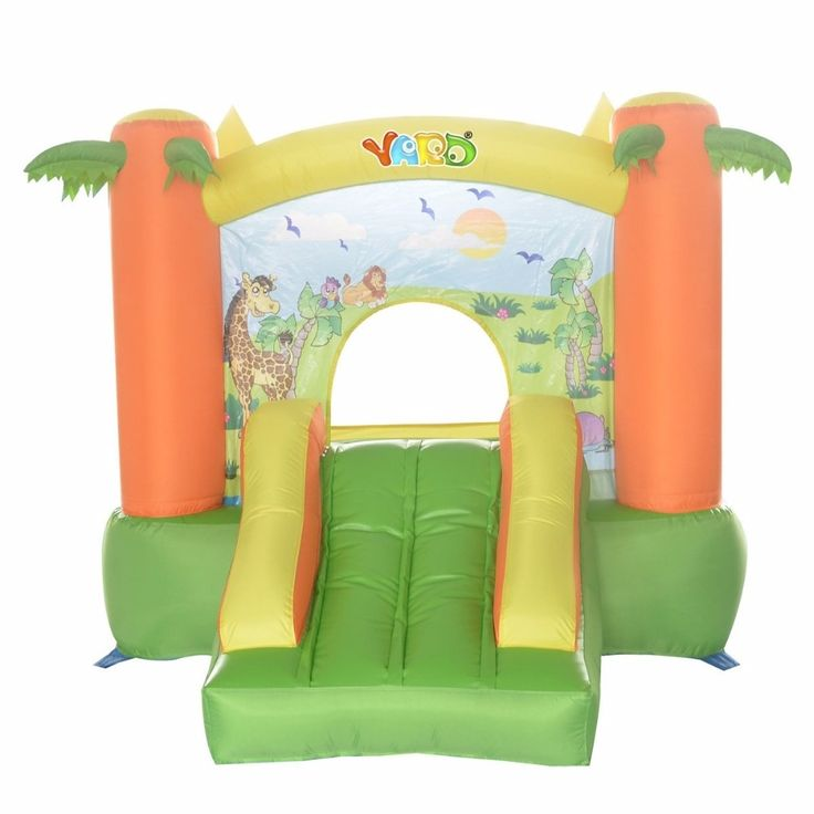 365.00$  Watch here - http://ali90q.worldwells.pw/go.php?t=32712846812 - YARD Asian Pacific Free Shipping Indoor Inflatable Trampoline with Slide Cute Cartoon Zoo Pattern for Kids   365.00$