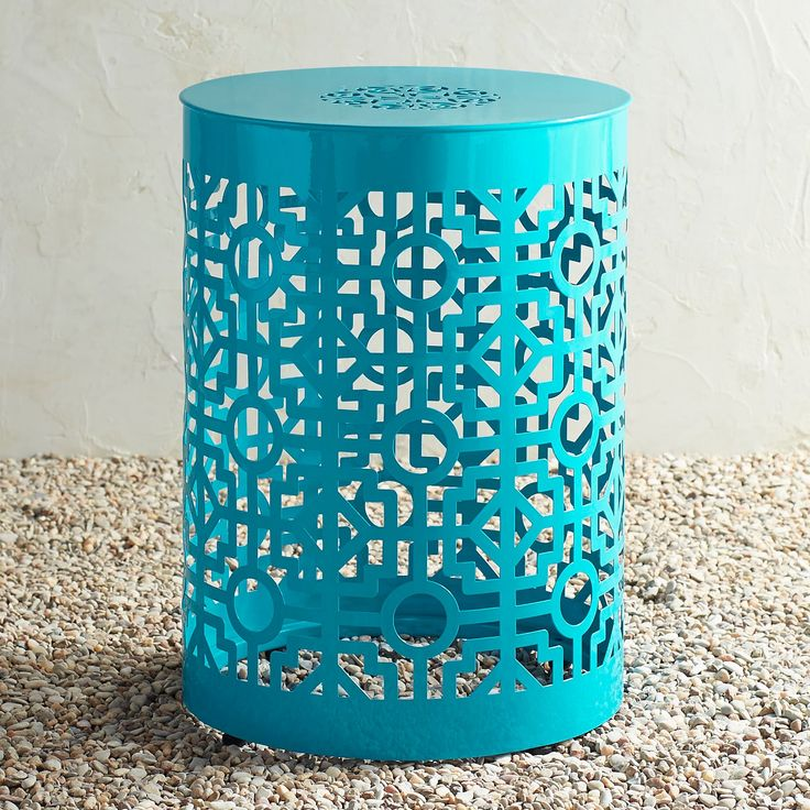 outdoors in stool safavieh stools blue decor egg robins ceramic garden lowes pl shop at barrel metal com
