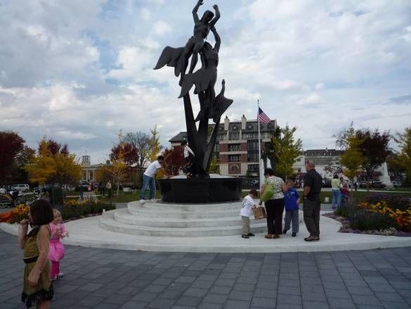 Shain Park, Birmingham, Michigan