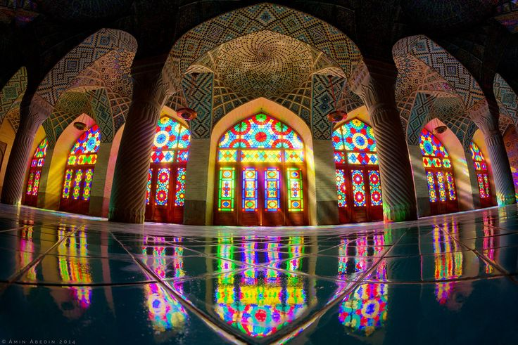 Dance of Colors & Lights Nasir Al Mulk Mosque located in Shiraz, Iran by Amin Abedini on 500px