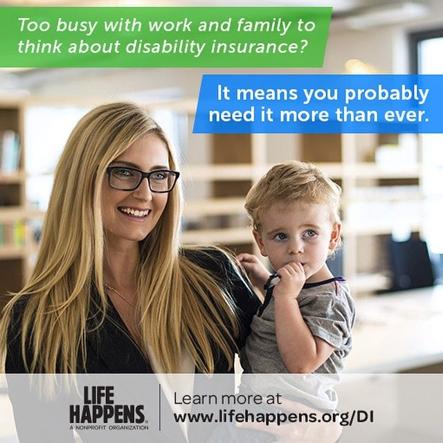 Family is important, and by protecting your paycheck, you are protecting your family too. In fact, 50% of Americans couldn't meet expenses after just 1 month without a paycheck. Ensure your family's well being with Disability Insurance if illness or accident should strike. #DisabilityInsuranceAwareness #LifeHappens