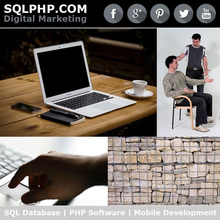 Digital Marketing Werbung SQLPHP.COM - SQL Database   PHP Software   Mobile Development   Software Projekt Management   Copenhagen Denmark