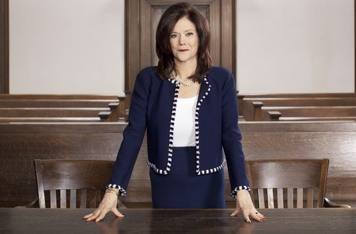 Fighting for the wrongly accused,Kathleen Zellner, of Kathleen T. Zellner & Associates, in a Kankakee County courtroom.