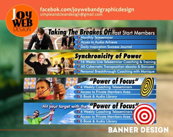 Examples - JoyWeb Design Portofolio