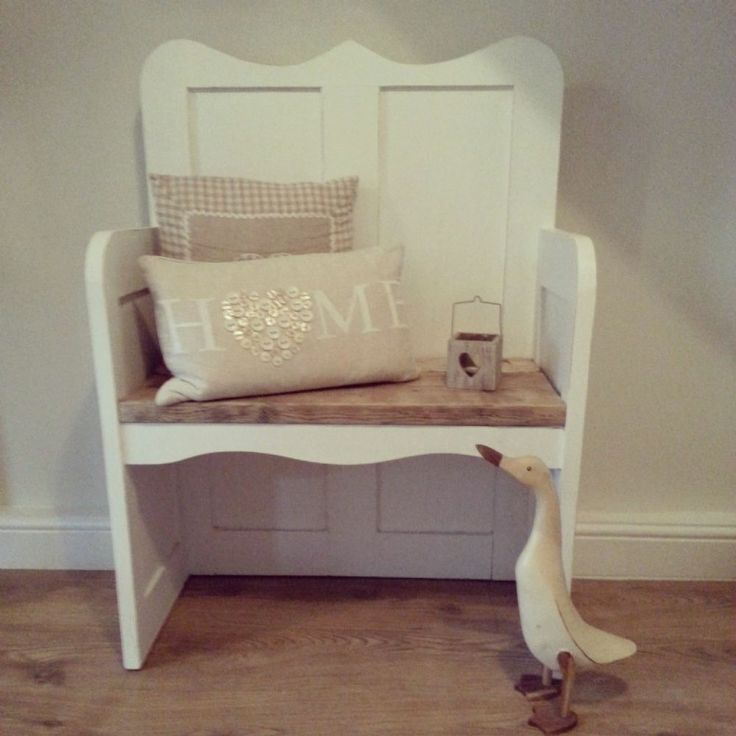 Beautiful monks bench church pew hand made from old reclaimed wood Perfect for extra seating at a dining table or even in a hall way this stunning