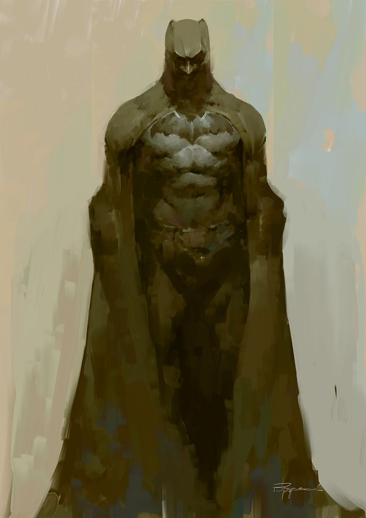 CGTalk - BATMAN, puppeteer lee (2D)