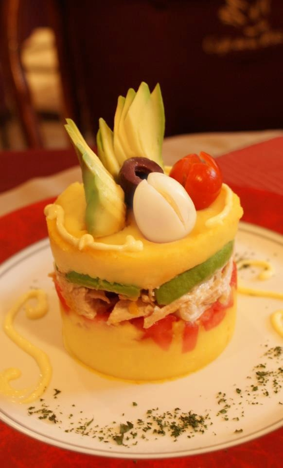 Causa (potato dish) is one of my favourite kinds of Peruvian food…