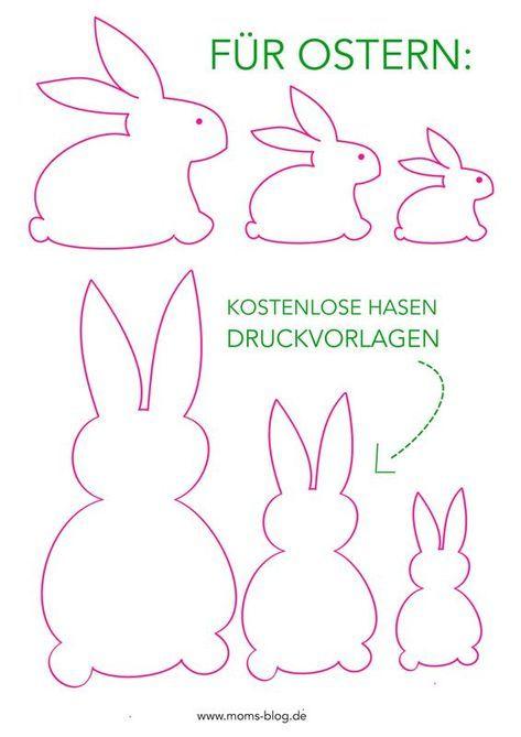 Kostenlose Druckvorlage für eure Frühlings- und Osterdeko! :-) #freeprintable…