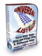 "Universal List Builder ""Quickly turn any website or webpage into a software app! Password protected button forces opt-in to your lists! User must subscribe to list to get access password! This is the perfect list builder!"