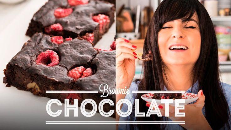 BROWNIE DE CHOCOLATE COM FRAMBOESA | DANI NOCE - YouTube