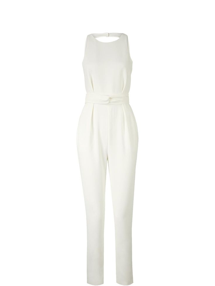 FINDERS KEEPERS As You Are Twist Jumpsuit - White | veryexclusive.co.uk