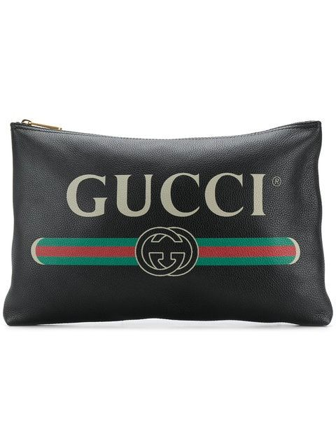 0aecf8214 Gucci Logo Clutch Bag in 2019 | wallets pouches , clutches etc ...