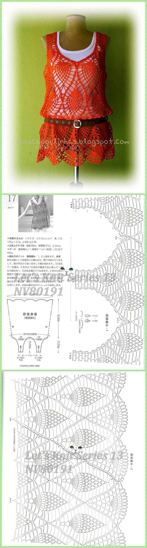 схема вязания пледа красивейшая кайма листиками