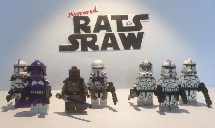 Lego Star Wars minifigure Clone Custom Troopers - PRIVATE LISTING UK.SKULT