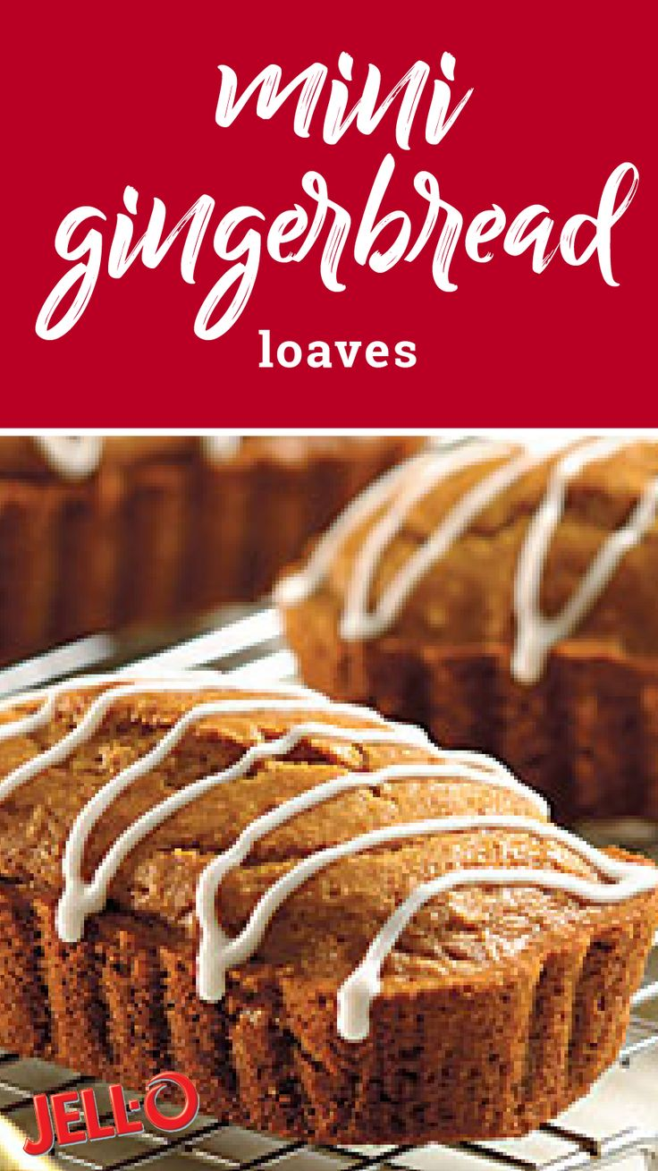 Mini Gingerbread Loaves – Fat-free milk and reduced fat sour cream help make these moist and delicious holiday quick bread a Healthy Living recipe that you're sure to enjoy sharing with friends and family this holiday season.