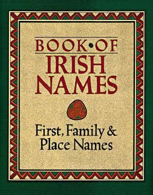Book Of Irish Names By Ronan Coghlan