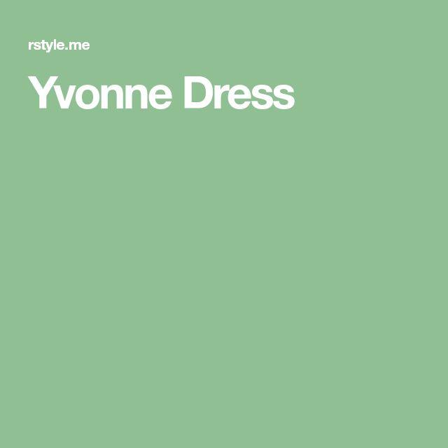 Yvonne Dress