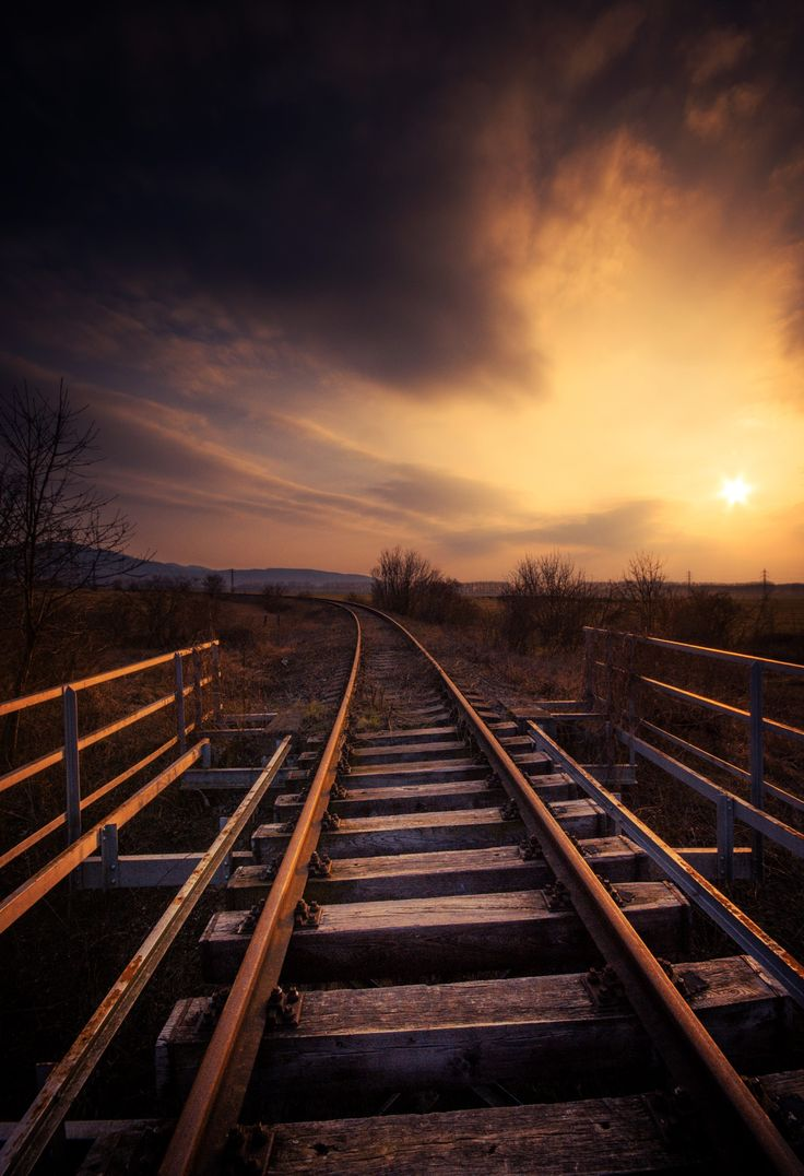 runaway trails - abadoned railway in Slovakia