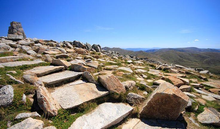 This iconic day walk from Thredbo takes you to the summit of Mount Kosciuszko, Australia's highest mountain, for epic views across the Snowy Mountains.