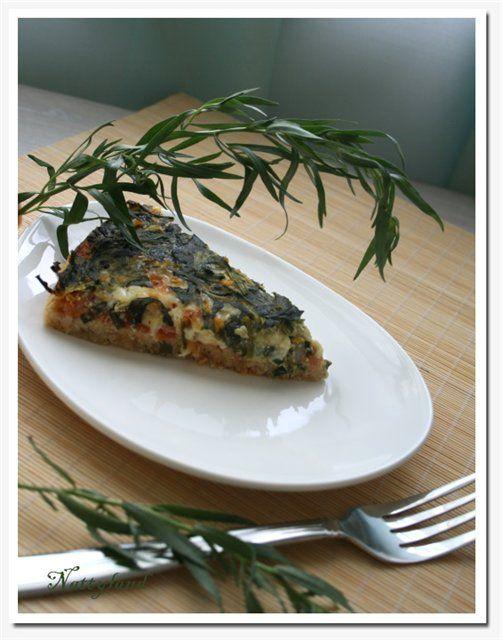 Кельтский пирог (Pastai geltaidd) со шпинатом и эстрагоном