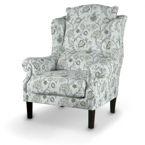 Dekoria Fotel w kolekcji Summer. Wygodny, solidny fotel o klasycznym kształcie robiony ręcznie.