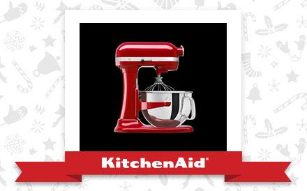 The Empire Red Pro 600® Stand Mixer is the appliance of my holiday dreams. Declare and Share your favourite KitchenAid small appliance for a chance to win it!