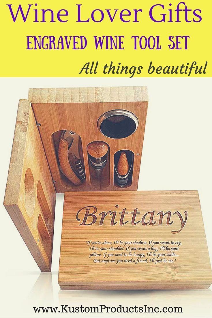 best bridesmaid poems ideas pinterest wedding day custom engraved bamboo piece wine bottle opener set