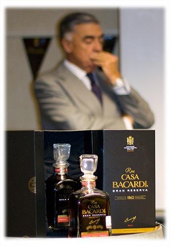 RumFest 2011 - Ron Casa Bacardi Gran Reserva with Master Distiller Jose Sanchez Gavito at Boutique RumFest
