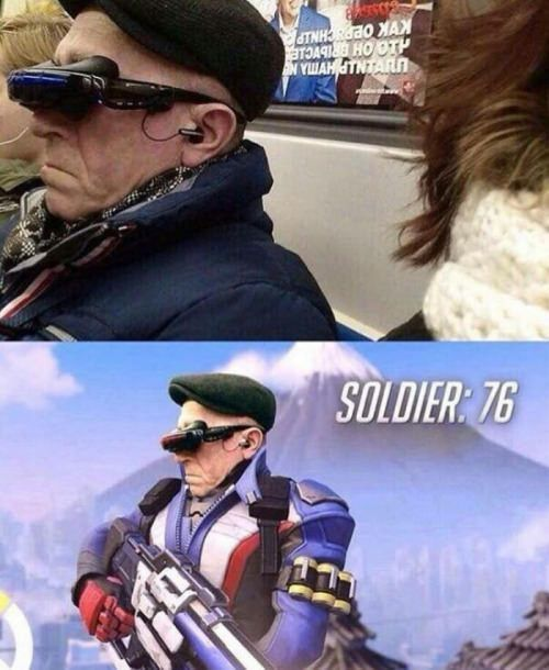 3c644ffc27d Soldier 76... years old  overwatch  Soldier76  cosplayclass ...