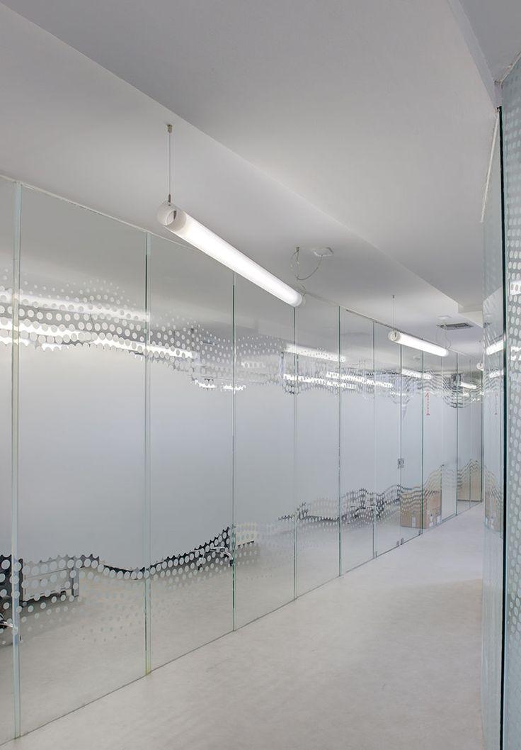 Hanging light fixture / LED / fluorescent / linear - TUBE -#lighting #design #moderndesign #ironageoffice http://www.ironageoffice.com/